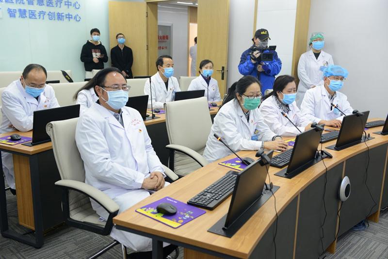 湖北咸宁与云南成功开展首次复杂重症新冠肺炎远程会诊